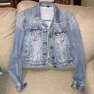 American Eagle denim jacket, cropped